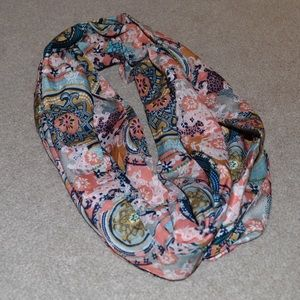 Accessories - Silky Professional Formal Paisley Scarf